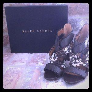Ralph Lauren ladies designer heels